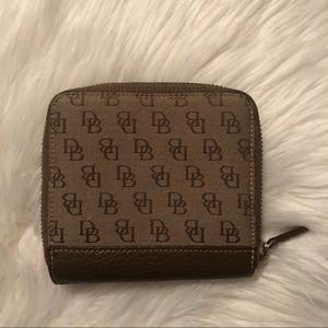 Classic Dooney & Burke mini wallet